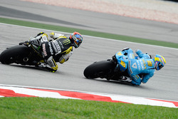 Alvaro Bautista, Rizla Suzuki MotoGP y Colin Edwards, Monster Yamaha Tech 3
