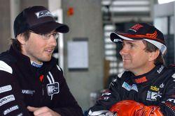 Taz Douglas and Glenn Seton