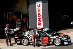 Le garage du Rock Racing