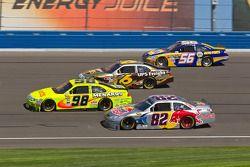 Paul Menard, Richard Petty Motorsports Ford, Scott Speed, Red Bull Racing Team Toyota, David Ragan,