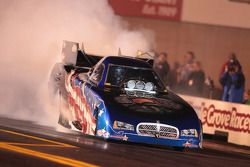 Melanie Troxel under power in her 2010 Dodge RT