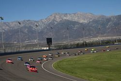 Premier tour: Jamie McMurray, Earnhardt Ganassi Racing Chevrolet mène la file