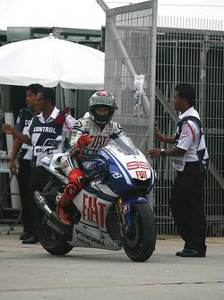 Campeón de MotoGP 2010 Jorge Lorenzo, Fiat Yamaha Team