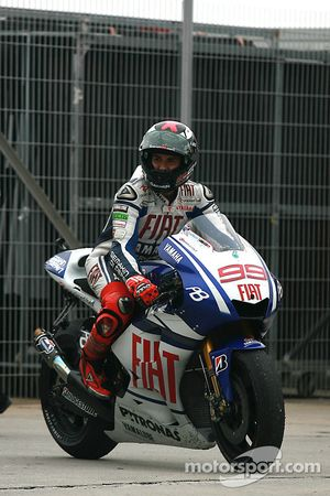 2010 MotoGP champion Jorge Lorenzo, Fiat Yamaha Team