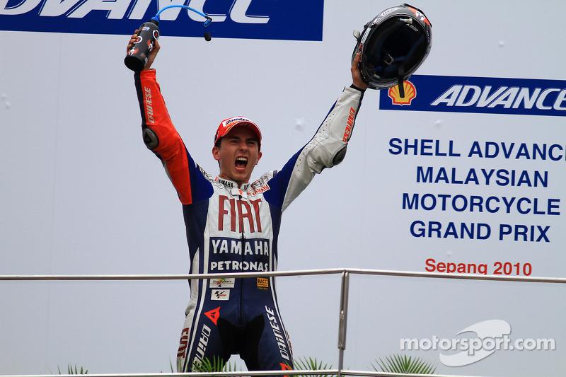 2010: MotoGP, Campeão - Jorge Lorenzo - Yamaha
