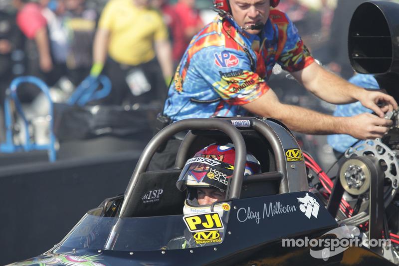 Clay Milican, Nitrofish Wear 2008 Hadman Dragster