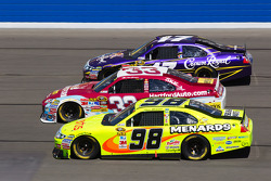 Paul Menard, Richard Petty Motorsports Ford, Clint Bowyer, Richard Childress Racing Chevrolet, Matt Kenseth, Roush Fenway Racing Ford