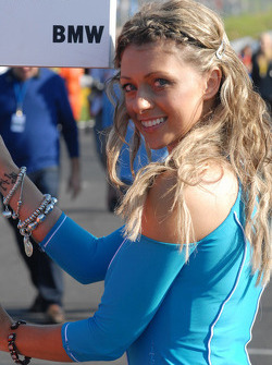 Rob Collard's grid girl