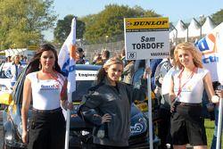 Sam Tordoff's gridgirls