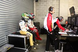 James Courtney, Jim Beam Racing N°18 et Marcus Marshall, Jim Beam Racing N°17