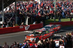 Chequered Flag, Craig Lowndes and Jamie Whincup