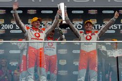 Podium, Craig Lowndes and Mark Skaife