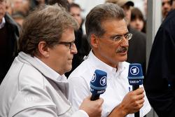 BMW returns to DTM press conference: Mercedes-Benz Motorsport director Norbert Haug and BMW Motorsport director Dr. Mario Theissen