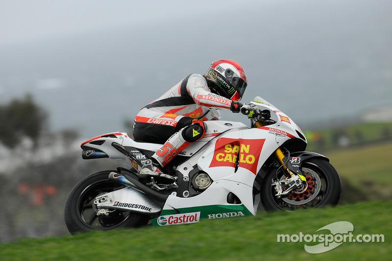 GP de Australia 2010: Marco Simoncelli (6º)