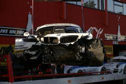 La BMW Z4 N°76 de Patrick Söderlund, Edward Sandström