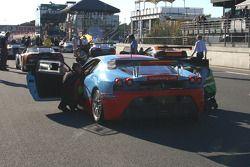 #87 Chad Racing Ferrari 430 Scuderia: Iain Dockerill, Tom Ferrier