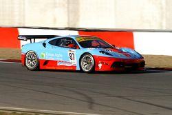 La Ferrari F430 Scuderia N°87 de Iain Dockerill et Tom Ferrier