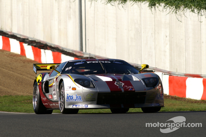 #99 Marc VDS Racing Ford GT: Gael Lesoudier, Maxime Martin