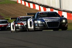 Sainteloc-Phoenix Racing AUDIs, #5: Pierre Hirschi, Gregory Guilvert; #6: Jerome Demay, Bruce Lorger