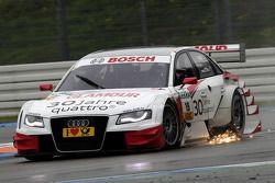 Funkenflug: Katherine Legge, Audi Sport Team Rosberg, Audi A4 DTM 2008