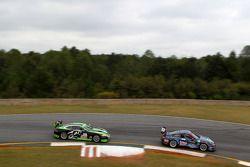 #63 TRG Porsche 911 GT3 Cup: Henri Richard, Duncan Ende, Andy Lally, #33 Jaguar RSR Jaguar XKRS: But