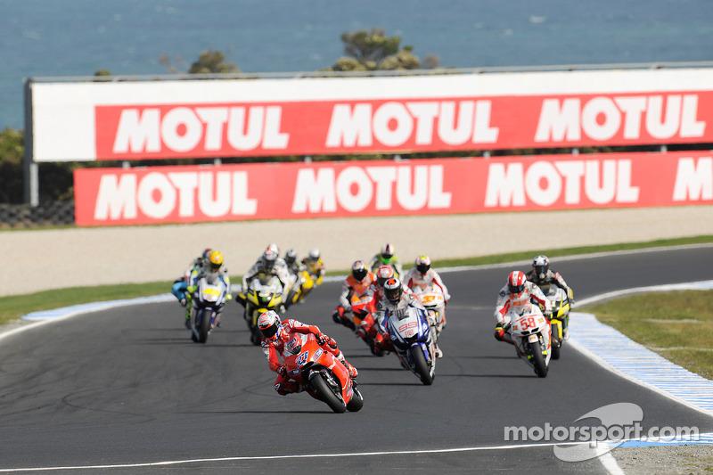 El inicio: Casey Stoner, Ducati Marlboro Team