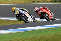 Valentino Rossi, Fiat Yamaha Team, Nicky Hayden, Ducati Marlboro Team