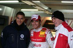 Edoardo Mortara, Signature, Dallara F308 Volkswagen, Timo Scheider, Audi Sport Team Abt Audi A4 DTM,