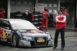 Alex Stehlig Engineer of Mattias Ekström, Audi Sport Team Abt Audi A4 DTM