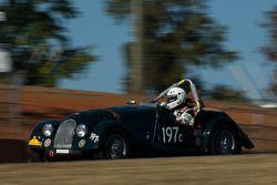 #197 enduro '62 Morgan plus 4 SS: Carlton Shriver