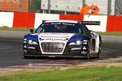L'Audi R8 LMS N°5 de Pierre Hirschi et Grégory Guilvert