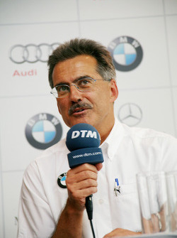 BMW returns to DTM press conference: BMW Motorsport director Dr. Mario Theissen