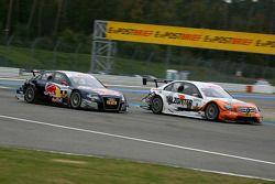 Mattias Ekström, Audi Sport Team Abt Audi A4 DTM, Gary Paffett, Team HWA AMG Mercedes C-Klasse