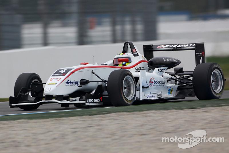 Carlos Munoz, Muecke Motorsport Dallara F308 Mercedes