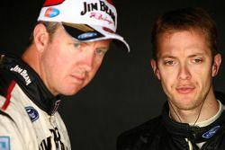 Steven Johnson, Dario Franchitti, #17 Jim Beam Racing
