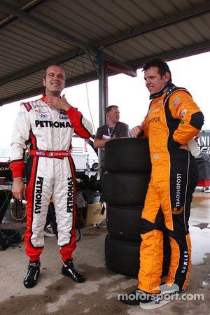 Fabrizio Giovanardi, Fair Dinkum Sheds Racing N°21, Jason Bright, Trading Post Racing N°14