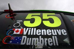 Paul Dumbrell, Jacques Villeneuve, The Bottle-O Race Team N°55