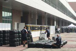 Williams F1 Team, Bridgestone lastiğis