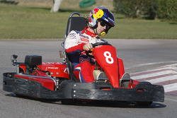 Rally Catalunya karting race: winner Sébastien Loeb