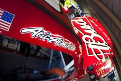 La voiture d'Aric Almirola, Richard Petty Motorsports Ford