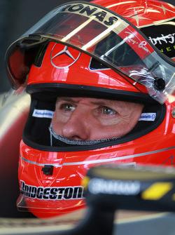 Michael Schumacher, Mercedes GP MGP W01
