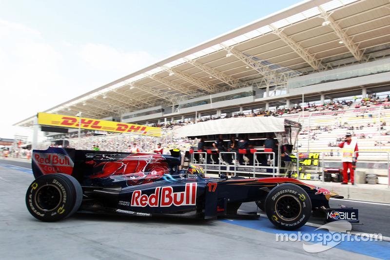 2010 : Toro Rosso STR5, à moteur Ferrari