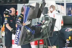 L'aileron avant de la Red Bull