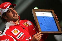 Fernando Alonso, Scuderia Ferrari, laisse ses empruntes