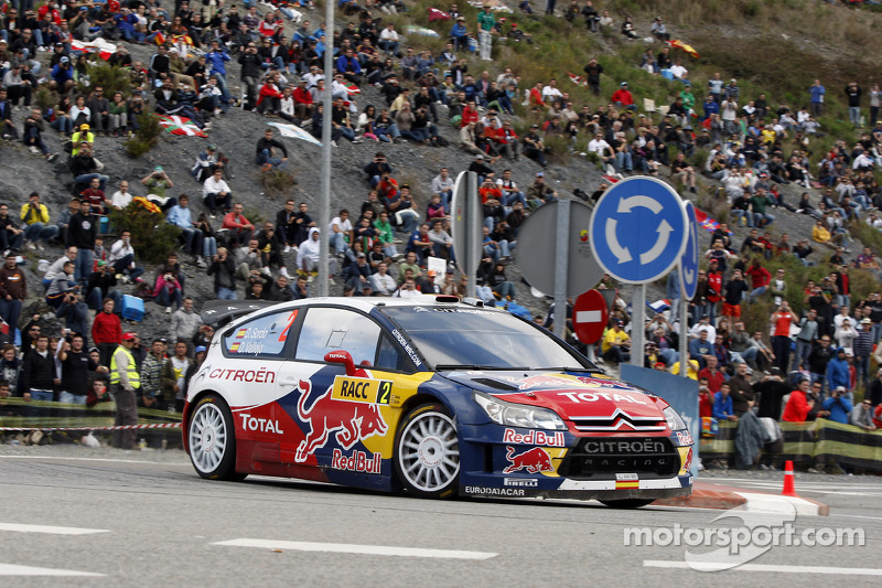 Daniel Sordo en Diego Vallejo, Citroën C4 Citroën Total World Rally Team