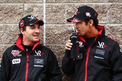 Timo Glock, Virgin Racing ve Lucas di Grassi, Virgin Racing