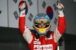Fernando Alonso (Ferrari), vainqueur