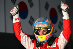 Race winner place Fernando Alonso, Scuderia Ferrari