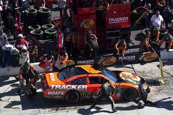 Passage aux stands pour Jamie McMurray, Earnhardt Ganassi Racing Chevrolet