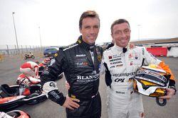 GT1 Karting in Navarra: Peter Kox en Bert Longin